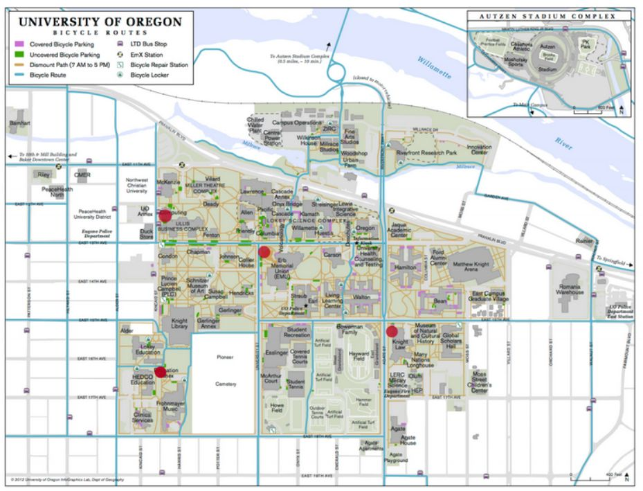 University Of Oregon Prepares To Launch Bike Share System