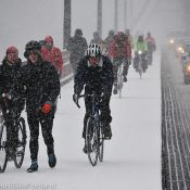 Riders brave severe winter storm (Photos)