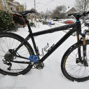Riding the icestorm in Portland: A few tips