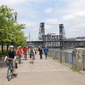 Steel Bridge users: take another route Monday morning