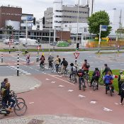 Portland designer/planner unveils 'protected intersections for bicyclists'