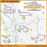 City releases dates, locations for 2014 Sunday Parkways events