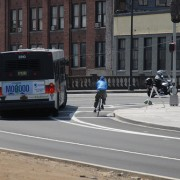 TriMet re-tests 'Talking buses' to warn other road users about turns