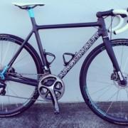Prototype custom carbon fiber bicycle stolen from builder's garage