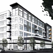 New 268-apartment project at Skidmore and Williams will have a Dutch 'woonerf' space