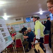 At first 20s Bikeway open house, a moment to focus on the full 9 miles