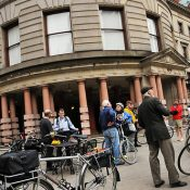 Exploring good, bad, ugly and new bikeways with PBOT's Bicycle Advisory Committee