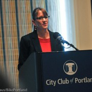 Recap of PBOT Director Leah Treat's first major speech