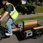 Portland made 'Truck Trike' will help haul Citi Bikes in New York