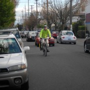 At 20s Bikeway open houses, narrow support for bike lanes instead of auto parking