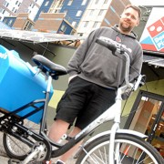 Domino's Pizza now delivers by cargo trike in downtown Portland