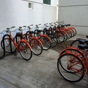 Nike launches on-campus bike share system