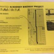 PBOT will host open house tonight for 'NE Rodney Bikeway Project'