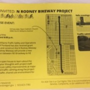 PBOT will host open house tonight for 'NE Rodney Bikeway Project'