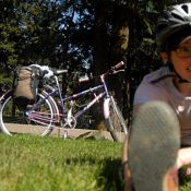 The Friday Profile: Rachael Pecore-Valdez, mountain-bike rookie on a wolf's tail