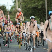 Thousands of Portlanders roll free on the Naked Bike Ride (gallery)