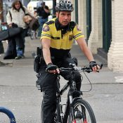 PPB Chief Reese joins a shift with downtown bike patrol