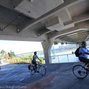 TriMet re-opens Esplanade path under Tilikum Bridge (photos)