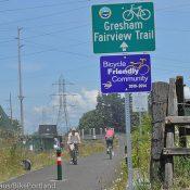 Exploring the Gresham Fairvew Trail
