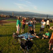 Join us tomorrow for an east Portland meet-up atop Rocky Butte