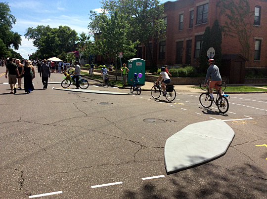 PopUp Protected Intersection Event 02