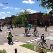 Portlander's 'protected intersection' concept gets first on-street demo (in Minneapolis)