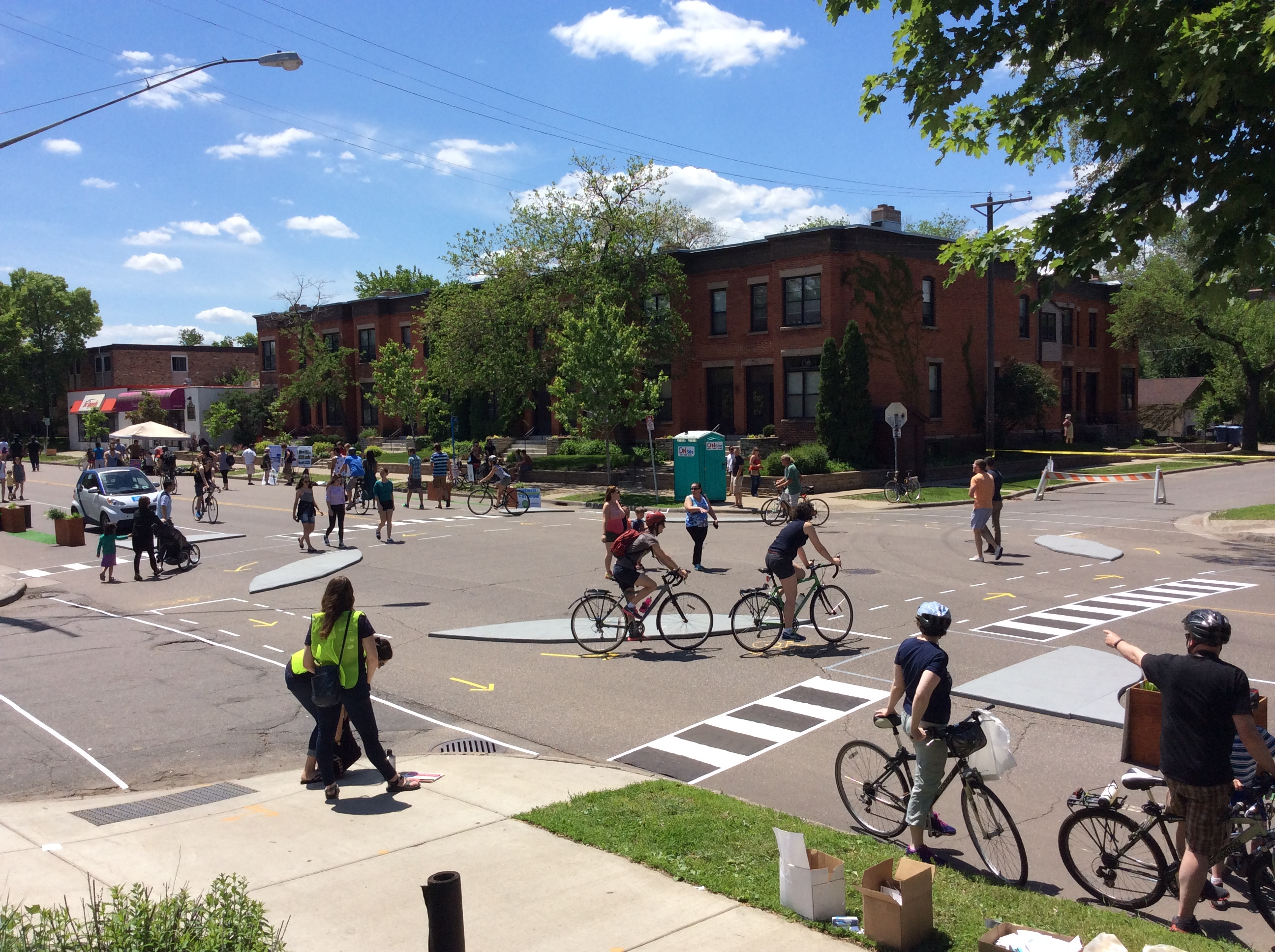Portlander's 'protected intersection' concept gets first on-street ...