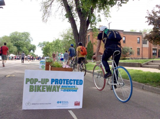 PopUp Protected Intersection Event
