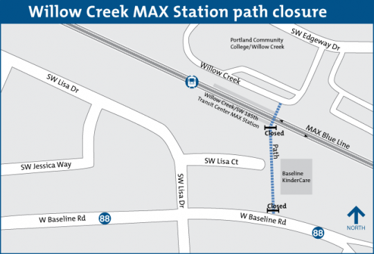 beaverton creek path map
