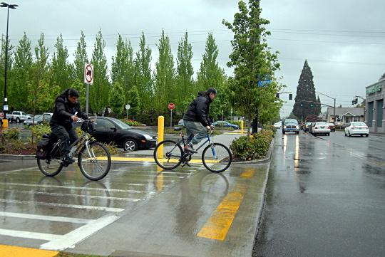 bike traffic walmart