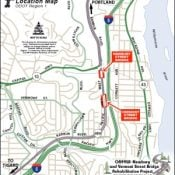 Expect traffic impacts on SW Barbur as ODOT begins bridge rehab project