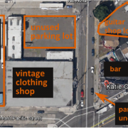 City proposes $30,000 project to preserve on-street parking next to unused parking lot