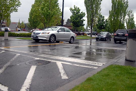 raised crosswalks
