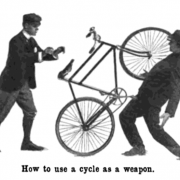 The Monday Roundup: Self-defense with a bike, Tokyo bike culture and more