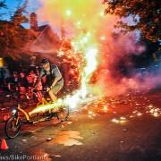 Fire-biking the Fourth