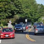 City mulls wider bike lanes on N. Willamette Blvd