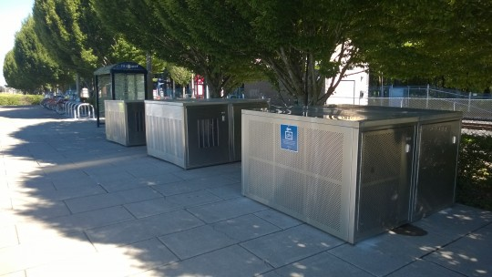 Beaverton Creek - bike lockers
