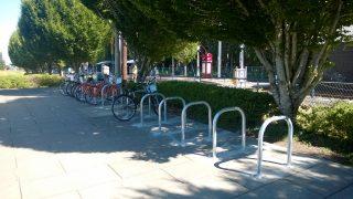 Beaverton Creek - staple bike racks