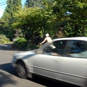 'Aggro' driving on neighborhood greenways annoys Portlanders in cars too