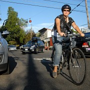 Bikeway in name only? Clinton Street's heavy traffic prompts calls for diverters