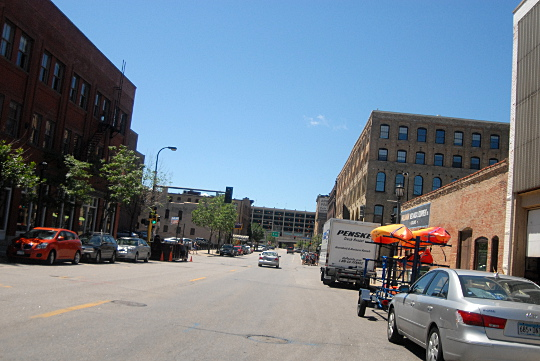 wasted street space downtown minneapolis