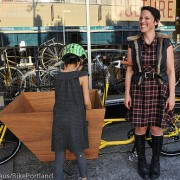 Portland cargo bike celeb Emily Finch gets a new bike