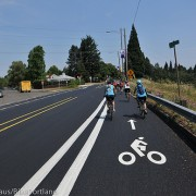First look: PBOT's new bike lane 'adjustments' on N Willamette Blvd
