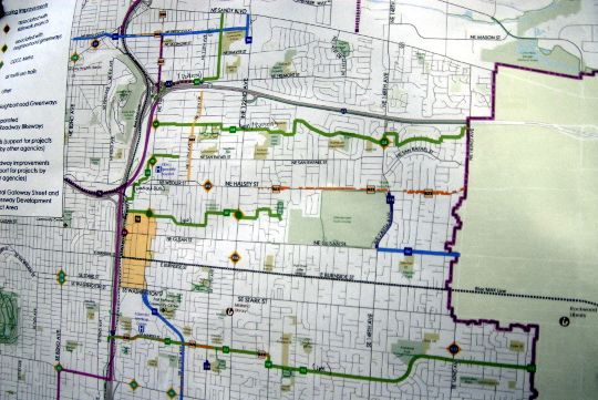 east portland neighborhood greenways