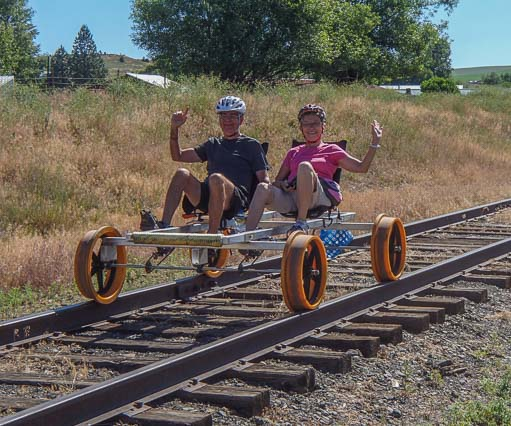 The Monday Roundup: Railroad recumbent, wireless bike ...