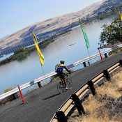 Last Day of Cycle Oregon: Closing the loop in The Dalles