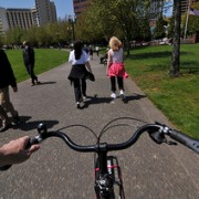 City will install signs in Waterfront Park to discourage unsafe riding