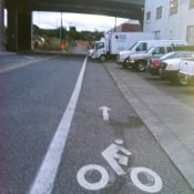 PBOT's first 'advisory bike lanes' coming to SE Caruthers