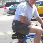 San Diego Bike Coalition board member in critical condition after rear-end collision