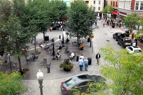 market square overhead